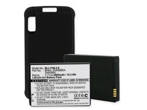 Extended Battery for Motorola Atrix 4G MB860 BH6X with Cover