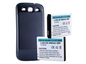 Empire Battery BLI-1258-4.2S for SAMSUNG GALAXY S III 4200mAh EXT W/NFC SILV CVR