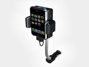 Car audio FM Transmitter+ DOCK+ Car Charger for iPhone iPod Touch with remote control