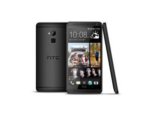 "Unlocked HTC One Max 803s 4G LTE 16GB 5.9"" Andriod Fingerprint Scanner - Black"