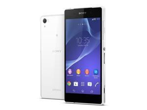 "New Unlocked Sony XPERIA Z2 D6503 5.2"" 16GB 4G LTE 2.3GHz Quad Core Phone - White"