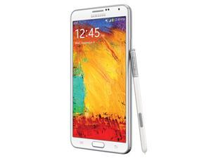 BNIB SAMSUNG GALAXY NOTE 3 GT-N9005 32GB WHITE NOTE III FACTORY UNLOCKED LTE 4G 3G 2G NEW (2G & 3G 850/900/1900/2100 & 4G ...