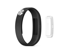 Sony SmartBand SWR10 (Black) Removable core , IP58 Waterproof , NFC ,Bluetooth 4