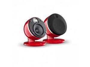 Focal Dome-2.0 Speakers - Red Pair