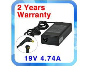 Asus Replacement Power Supply Notebook Laptop AC DC Adapter (90W 19V 4.74A 5.5*2.5mm)