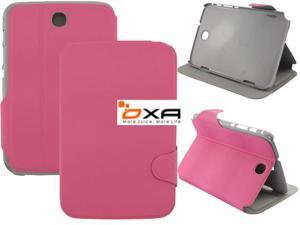 2014 New Style Sleep Leather Smart Case Stand Cover For Samsung Galaxy Note 8.0 N5100 N5110 -Pink