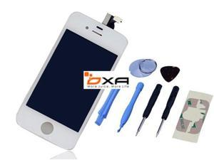 US Stock White Replacement For iPhone 4S Digitizer LCD + Touch Screen Glass Assembly Replacement TOOL