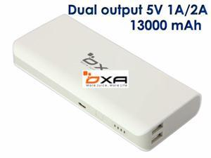 OXA 13000mAh Dual USB Port (5V 1/2A) External Portable Battery pack Power Bank Charger for Apple iPhone 4 4s 5 5s 5c Nokia ...
