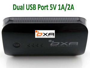 OXA 8400mAh Dual USB Port 5V 1A/2A External Portable Battery pack Power Bank Charger for Apple iPhone 4 4s 5 5s 5c Nokia ...
