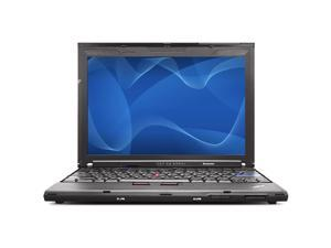 Lenovo ThinkPad X200 Intel Core 2 Duo 2200 MHz 160Gig HDD 4096mb NO OPTICAL DRIVE 12 WideScreen LCD Windows 7 Professional ...