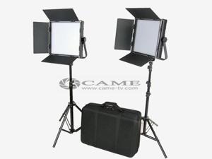 High CRI Bi-color 2 X 1024 LED Video Lights Studio TV Lighting +Free Bag