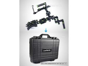 lanparte Video Dlsr Rig Camera Shoulder Support SCR-01+ Suit Case & Follow Focus