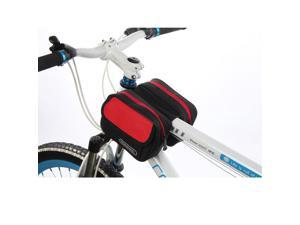 ROSWHEEL Colourful Outdoor Sports Cycling Front Double Bag Bike Bicycle Frame Tube Pack