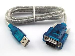 Hot USB to RS232 COM Port Serial PDA 9Pin DB9 Cable Adapter 0.8 m New