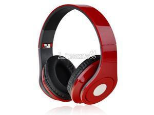 Adjustable Over-Ear Earphone Headphone 3.5mm for iPod MP3/4 PC iPhone Music Red