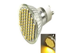 Fashion Hot Warm White SMD3528 60 LED Spot Light Lamp 450LM 5W GU10 Socket Bulb