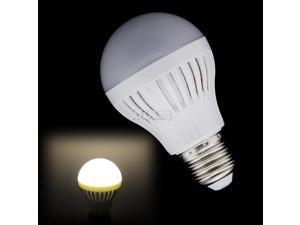 Energy Efficient E27 21 SMD5050 LED Light Warm White Bulb 110V/7W Durable