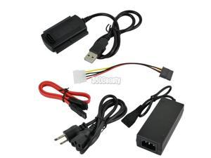 High quality USB 2.0 to SATA/ IDE 2.5 3.5 Hard Drive Adapter Cable hot sale