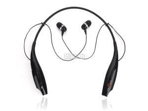 NEW For i Phone Samsung Wireless Bluetooth Handsfree Headset Earphone Black