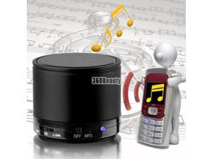 Black Bluetooth Wireless Handfree Mimi Portable Speaker For iPhone MP3 PC