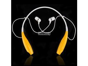 Universal HBS-700 Wireless Bluetooth Stereo Earphone Headset Neckband Style