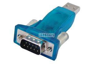 USB 2.0 to 9 Pin Serial RS 232 RS232  Adaptor nice good Converter usefull