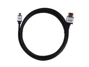 FORSPARK Ultra Slim 36AWG Cable Prime High Speed HDMI Cable with Ethernet(6 Feet/1.8 Meter),Metal Silver Case ,HDMI Connector ...