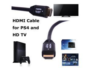 Forspark High Speed HDMI to HDMI Cable for Sony Playstation 4 - PS4, PS3, Xbox ONE & 360, HDTV, Blu-Ray, DVD, Satellite, ...