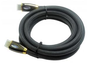 2.0 HDMI Cables with Ethernet for Panlong Etekcity Generic HD STB (10Feet) Gold Plated Black Case A to A Type