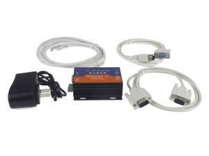 Serial Device Server RS232 RS485 to Ethernet TCP IP UDP Converter Server