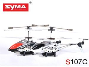 Syma S107C 3 CH Infrared RC Helicopter RTF 3 Channel W/ Gyro Micro HD Camera 512MB SD Card