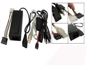 USB 2.0 to IDE SATA S-ATA 2.5 3.5 Hard Drive HD HDD Adapter Converter Cable