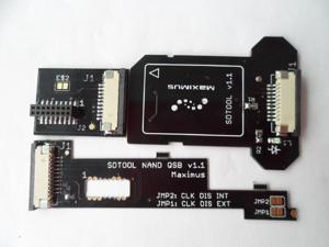 Maximus SD Tool kit V1.1 (SDTOOL NAND QSB V1.1) for Read / Write Corona 4GB mainboard