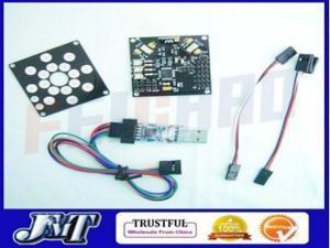 KKMulticopter v5.5 Circuit board V2.3 + ESC Board + Programmer Firmware Loader USB ,RC Copter 4-Axis UFO