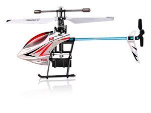 Syma F3 2.4G 4CH LCD Remote Control Outdoor RC Single Propeller Helicopter With Gyro