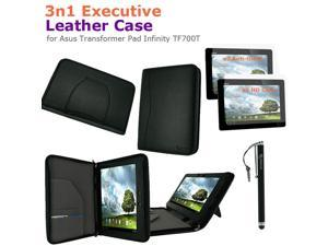 rooCASE 3n1 Executive Leather Case for Asus Transformer Pad Infinity TF700T