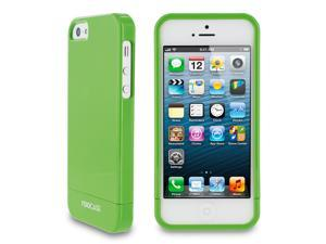 rooCASE Slim Fit 2-Piece Slider Hard Shell Case Cover for Apple iPhone 5S / 5, Gloss Green