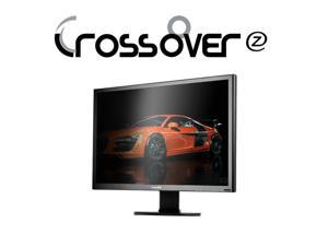"30"" Crossover Black Tune 30X-P Pivot Driver IPS LED 2560x1600 DP HDMI DVI-D Multi Input Monitor"