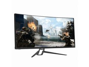 "Crossover Display TIO UW3535 HDR 100 Curved, 35"" WQHD (3440x1440) Curved Gaming Monitor, DP 1.4 /HDMI 2.0, Cross Hair, 120Hz Boost Clock, Freesync, Low Blue Light/Flicker Free, HDR Compatible"