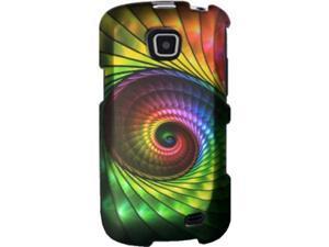 Samsung Galaxy Proclaim / Samsung Illusion SCH-I110 Rainbow Spiral Staircase Protector Faceplate
