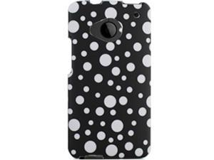 HTC ONE M7 Bubbles on Black Protector Faceplate