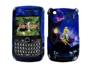 Disney Officially Licensed: Pixie Power Tinkerbell Snap-On Faceplate for BlackBerry Curve 8520/8530
