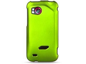 HTC Rezound Vigor 6425 Rubberized Snap-On Protector Case (Lime Green)
