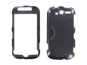 HTC T-Mobile myTouch 4G/Panache 4G Trans. Smoke Snap-On Protector Case Faceplate
