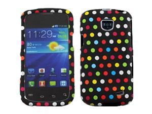 Samsung Galaxy Proclaim / Galaxy Proclaim / Samsung Illusion SCH-I110 Colorful Polka Dots Snap-On Protector Faceplate