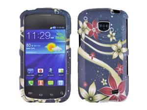 Samsung Galaxy Proclaim / Galaxy Proclaim / Samsung Illusion SCH-I110 Floral Galaxy Snap-On Protector Faceplate