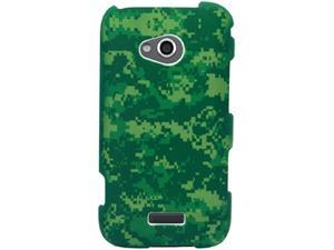 Samsung Galaxy Victory 4G LTE SPH-L300 (Sprint) Camouflage: Green Protector Faceplate