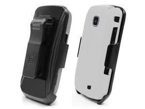 3-in-1 White Case & Holster Combo for Samsung Galaxy Proclaim / Samsung Illusion SCH-I110