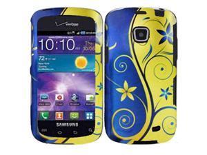 Samsung Galaxy Proclaim / Samsung Illusion SCH-I110 Royal and Gold Swirl Protector Faceplate
