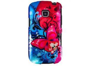 Samsung Galaxy Proclaim / Samsung Illusion SCH-I110 Butterfly Harmony Swirl Protector Faceplate